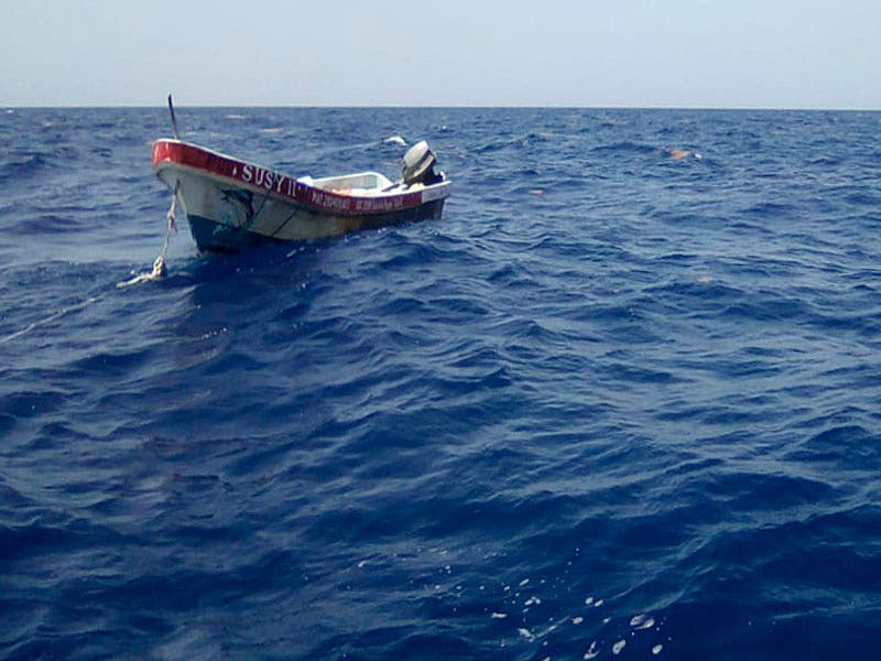 Rescatan a seis pescadores en Cozumel