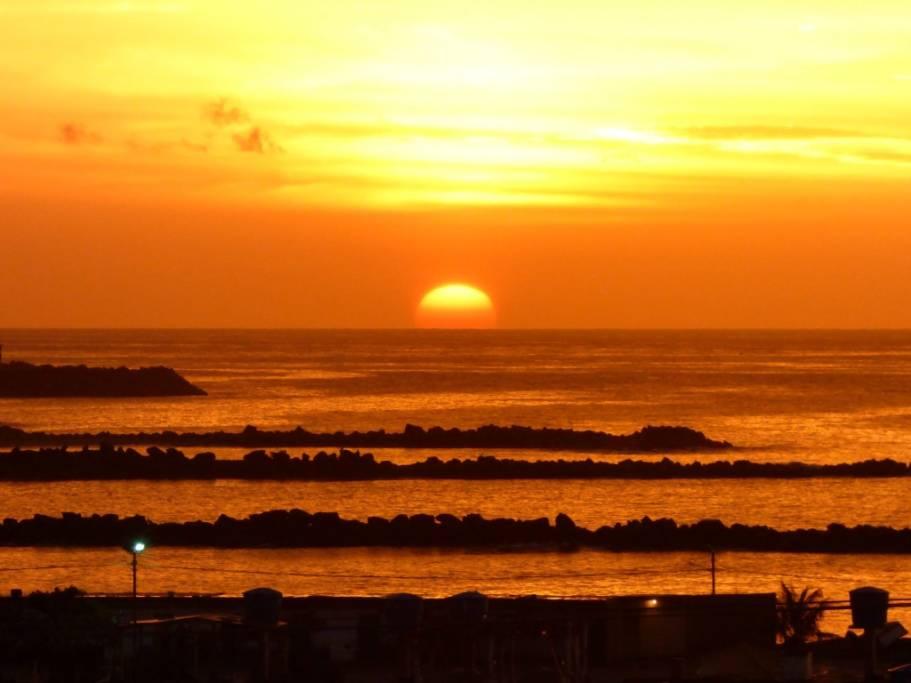Polvo del Sahara alcanza a la península de Yucatán