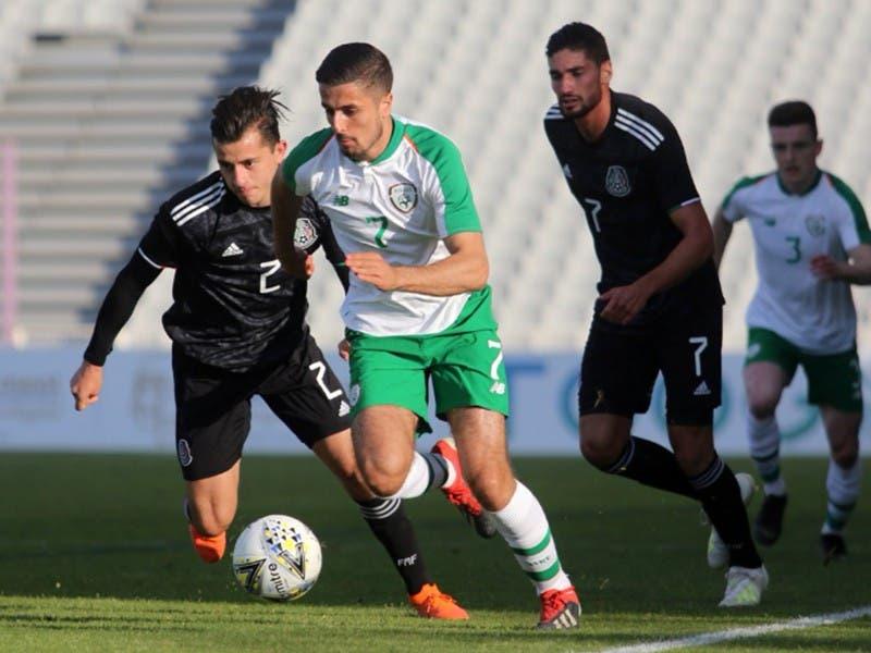 México Sub-22 empata 0-0 con Irlanda en Torneo Maurice Revello