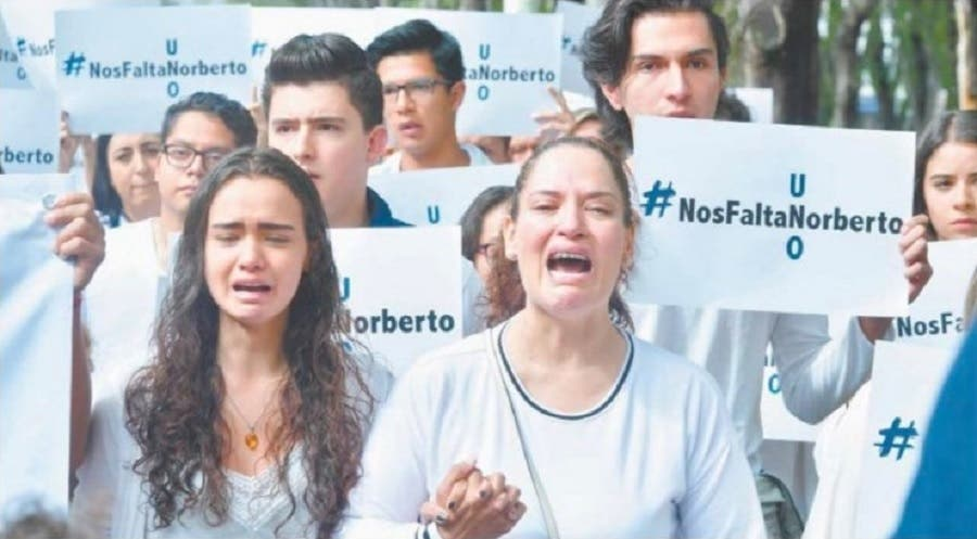Decreta Universidad 3 días de luto por crimen de Norberto Ronquillo