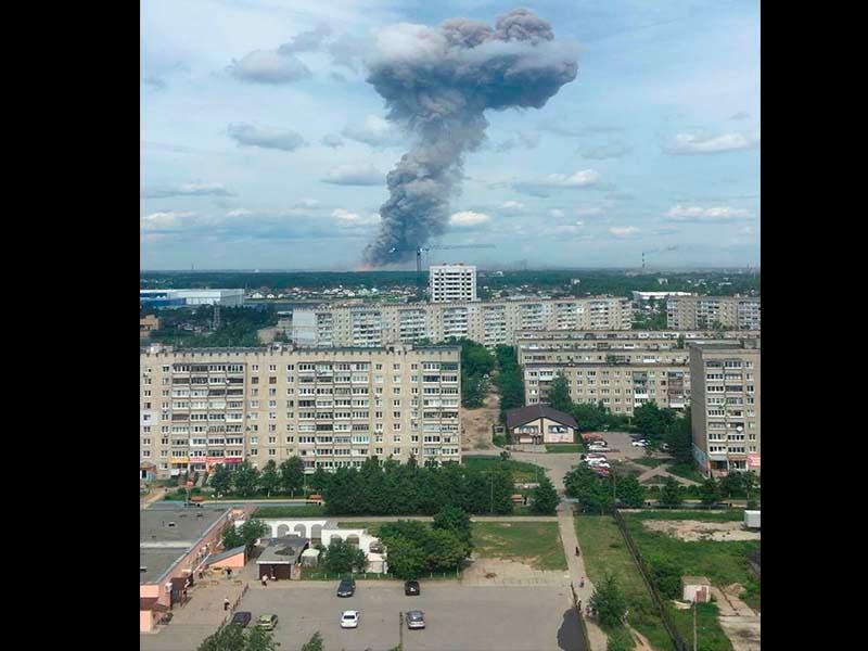 Al menos 43 heridos por explosión de fábrica en Rusia