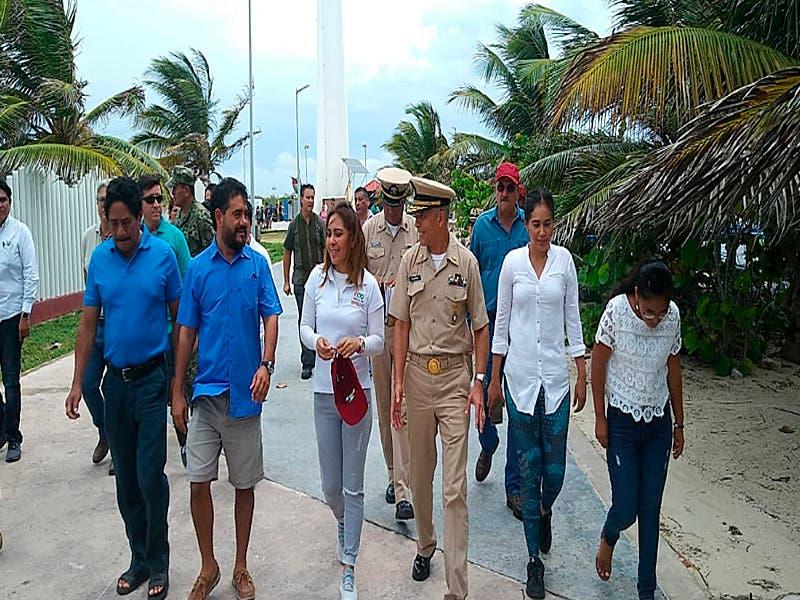 Inician estrategias para atacar sargazo en el sur de Quintana Roo