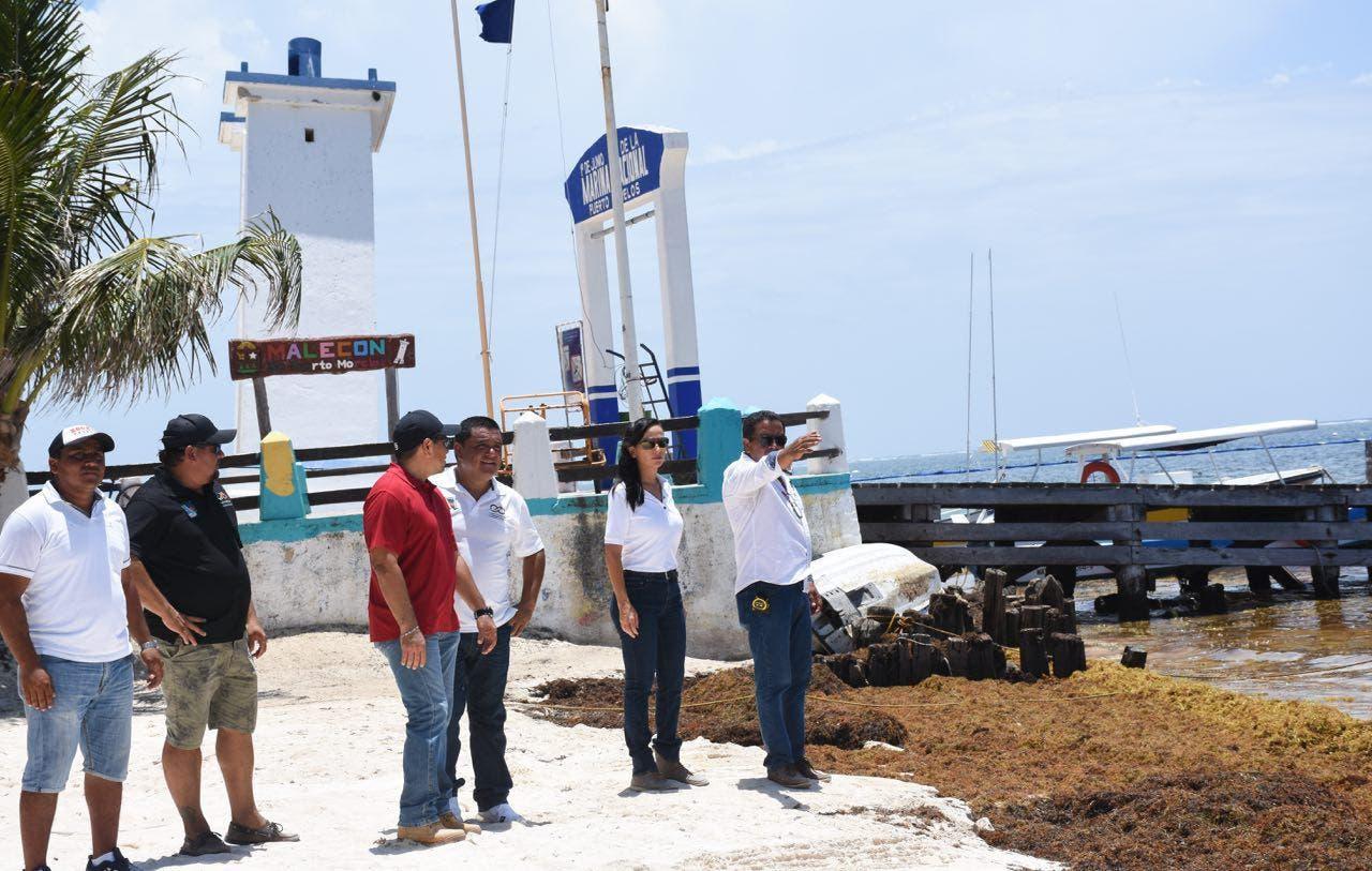 Hay un monitoreo diario de los trabajos que se realizan en la franja costera portomorelense