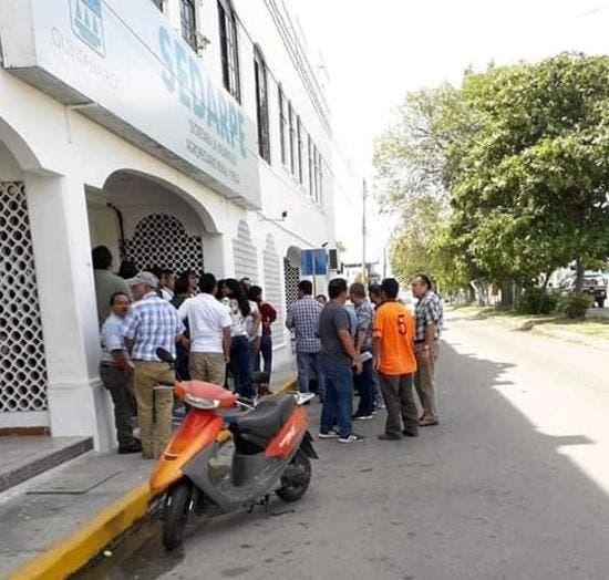 Oficinas de la Sedarpe en la ciudad de Chetumal.