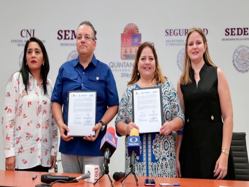 Más coordinación entre la SSP y la SEDETUR para la seguridad y la protección de quintanarroenses y turistas