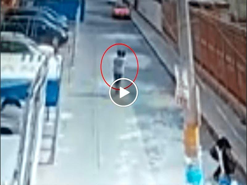 Video roban a una niña de 4 años en Puebla