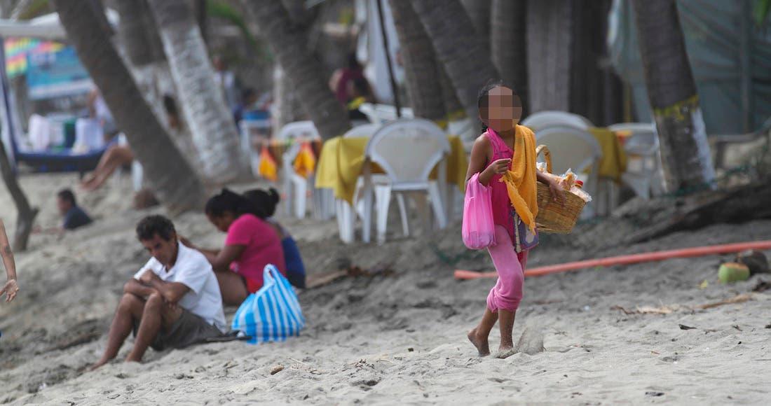 Niños trabajadores en México, expuestos al peligro: Inegi