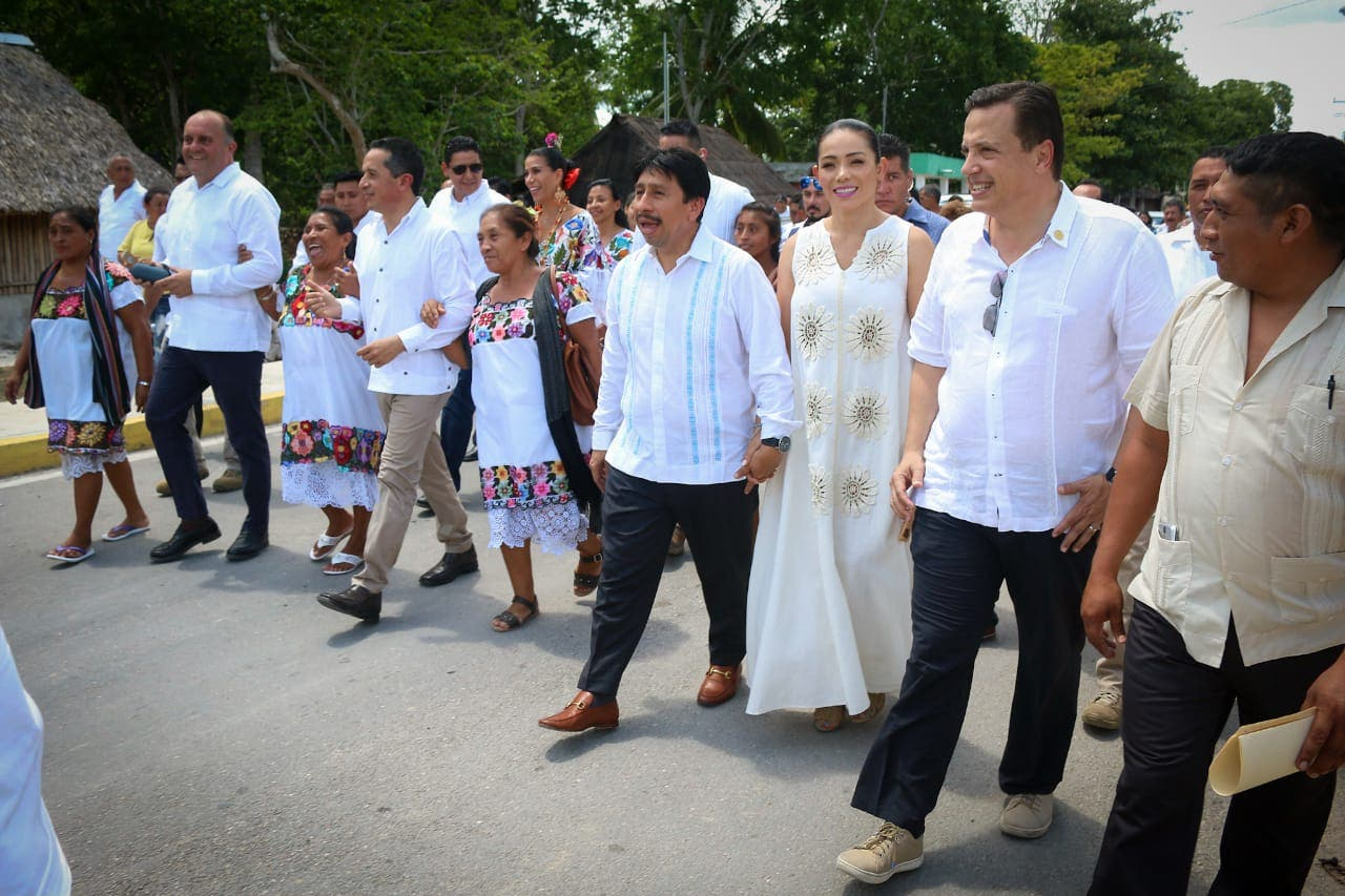 Presidente de la Comisión de Turismo en la Cámara de Diputados, diputado Luis Alegre, presente en el Décimo Primer Aniversario de la creación del noveno municipio.
