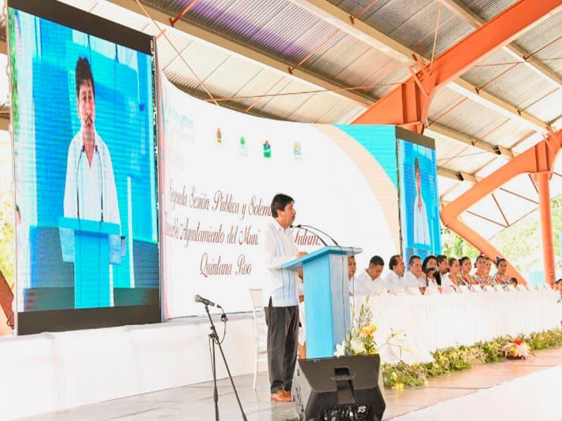 Tulum crece para consolidar su liderazgo entre los municipios del estado: Víctor Más Tah