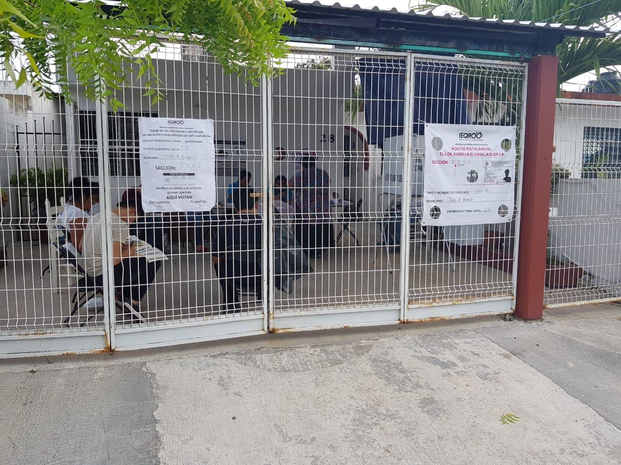 Cierre de casillas en Chetumal, indica que casi un 80 por ciento de los pobladores, no votaron