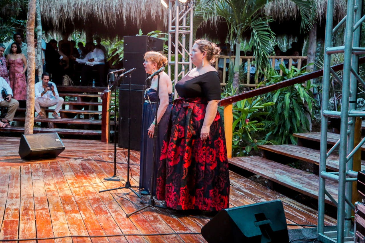 Un éxito la Ópera Maya en Tulum