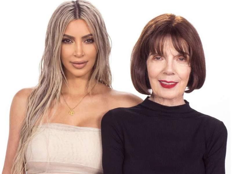 Línea de maquillaje de Kim Kardashian aprobada por su abuelita