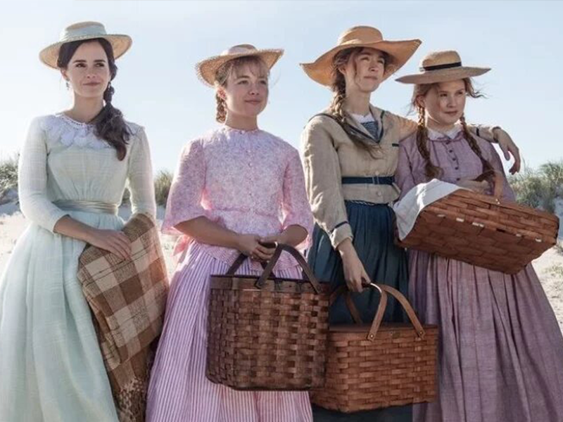 "Así luce Emma Watson en ""Mujercitas"""