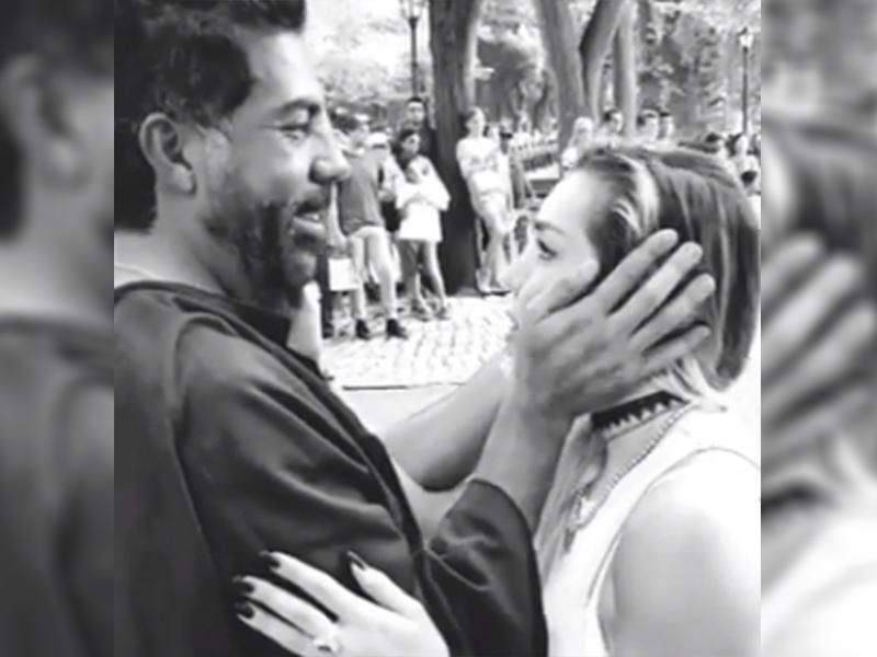 Frida Sofía le dice nini a su tío Luis Enrique