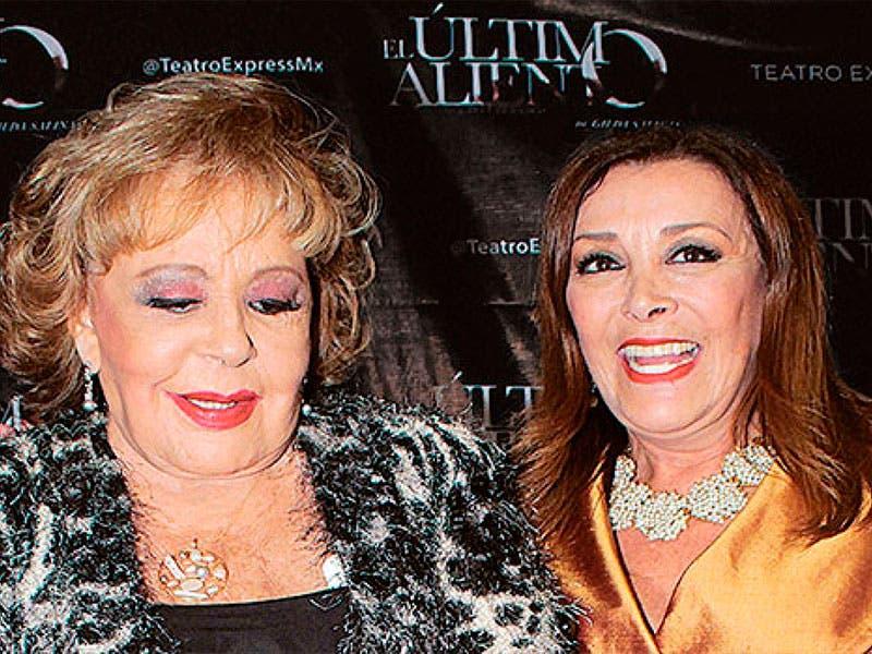 Sylvia Pasquel confiesa lo mal que la trataba Silvia Pinal