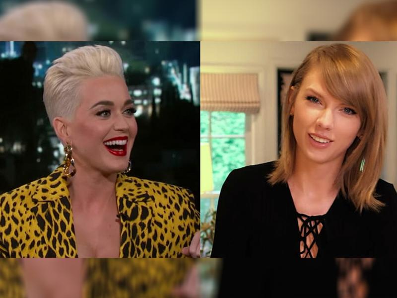 Katy Perry y Taylor Swift son amigas de nuevo