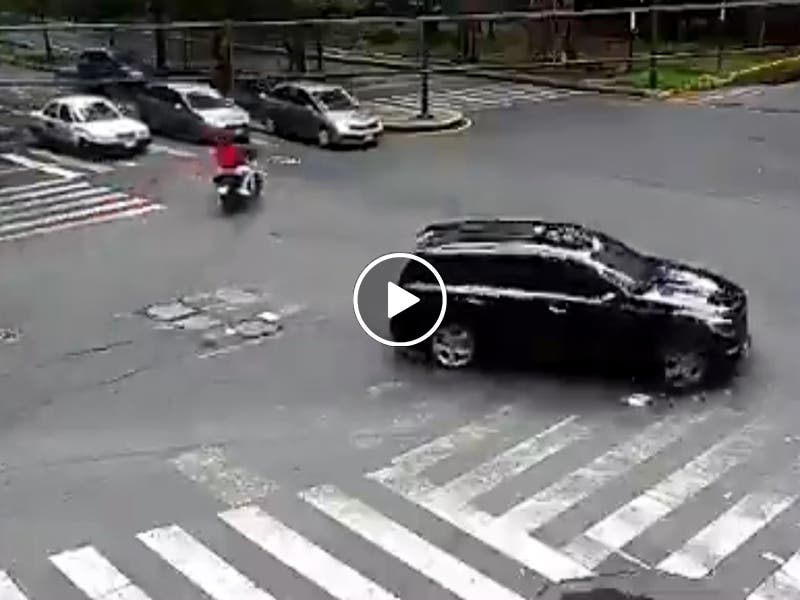 VÍDEO: Ladrones son interceptados tras robo en Polanco