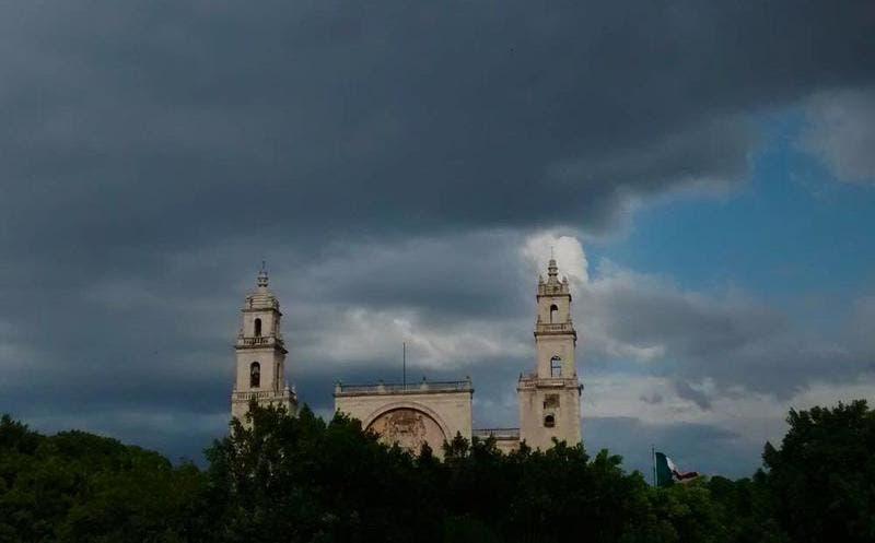 Este sábado Yucatán presentó tormentas y granizo
