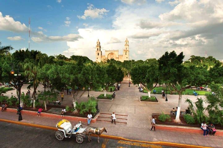 De acuerdo al pronóstico del clima en Yucatán, la península podría presentar lluvias por la tarde.