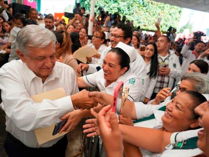 "López Obrador: ""No veo riesgo de recesión"""