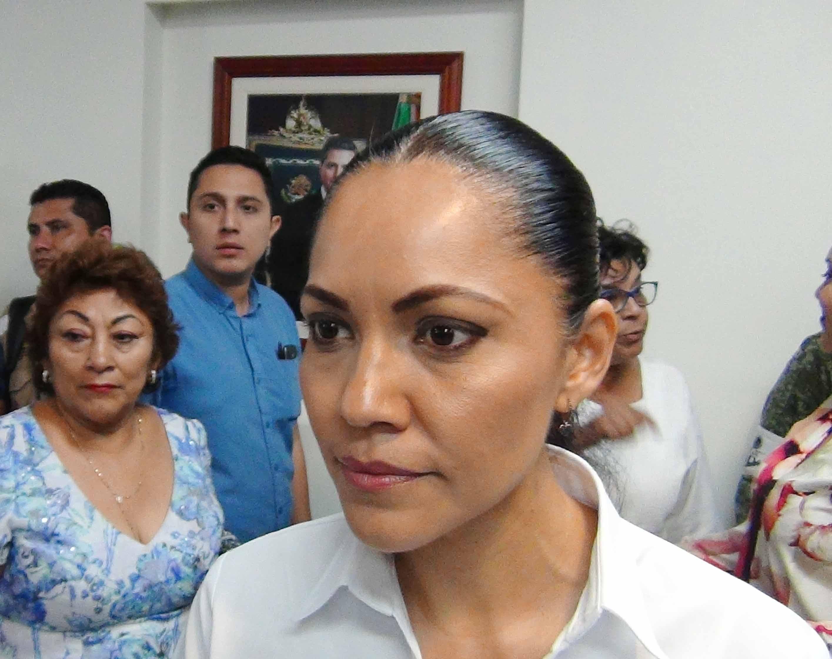 Secretaria de Salud en el estado Alejandra Aguirre Crespo