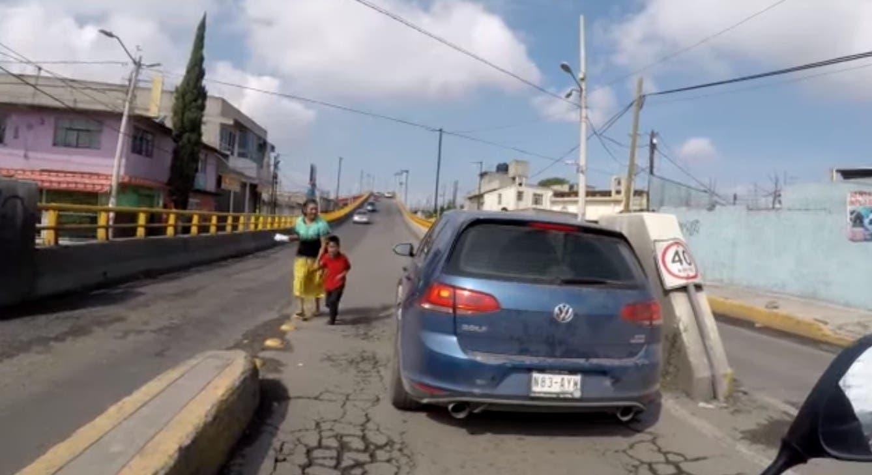 Cobarde conductor atropella a niño y huye en Edomex