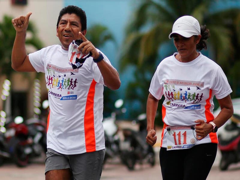 Conmemoran Día Contra las Drogas con carrera atlética en Cozumel
