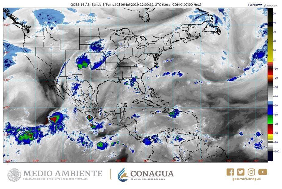 Calor seguirá al alza y lluvias probables al sur del Estado