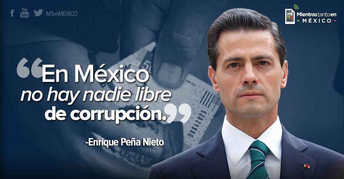 Exige mayoría en México indagar corrupción de Peña Nieto
