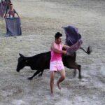 Realizan corrida de toros en rechazo a la Ley de Protección Animal