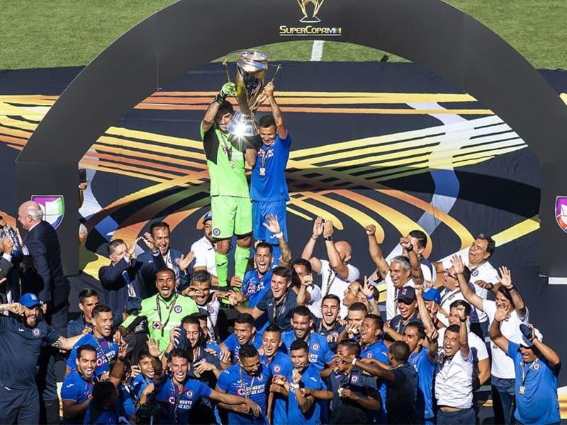 Cruz Azul Campeón de la Supercopa MX 2019