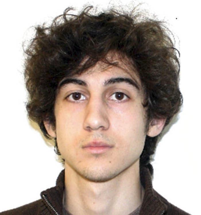Dzhokhar Tsarnaev, condenado a muerte por su participación en el atentado de la Maratón de Boston en 2013.