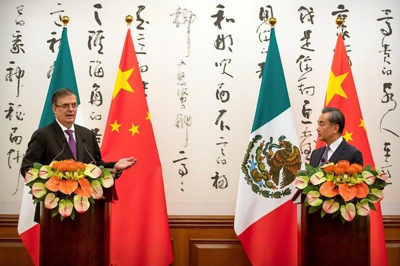 """China, """"buenas perspectivas y un gran potencial"""": Ebrard"""