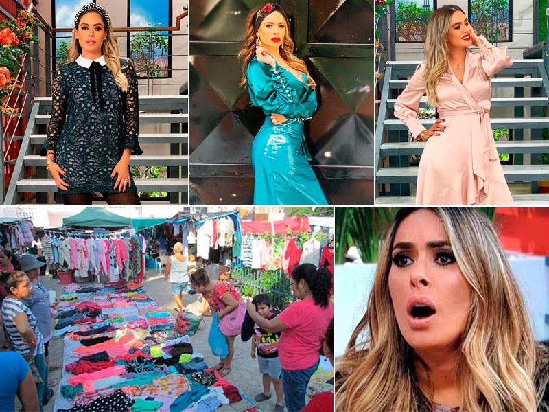 Galilea Montijo confiesa que compraba ropa de tianguis