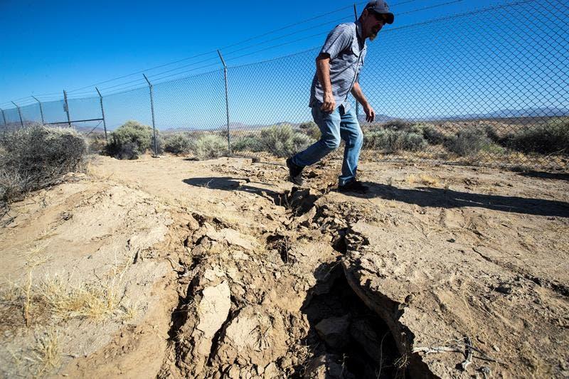 """Los californianos siguen a la espera del """"Big One"""", un terremoto que arrasará con la zona, de acuerdo a pronósticos científicos."""