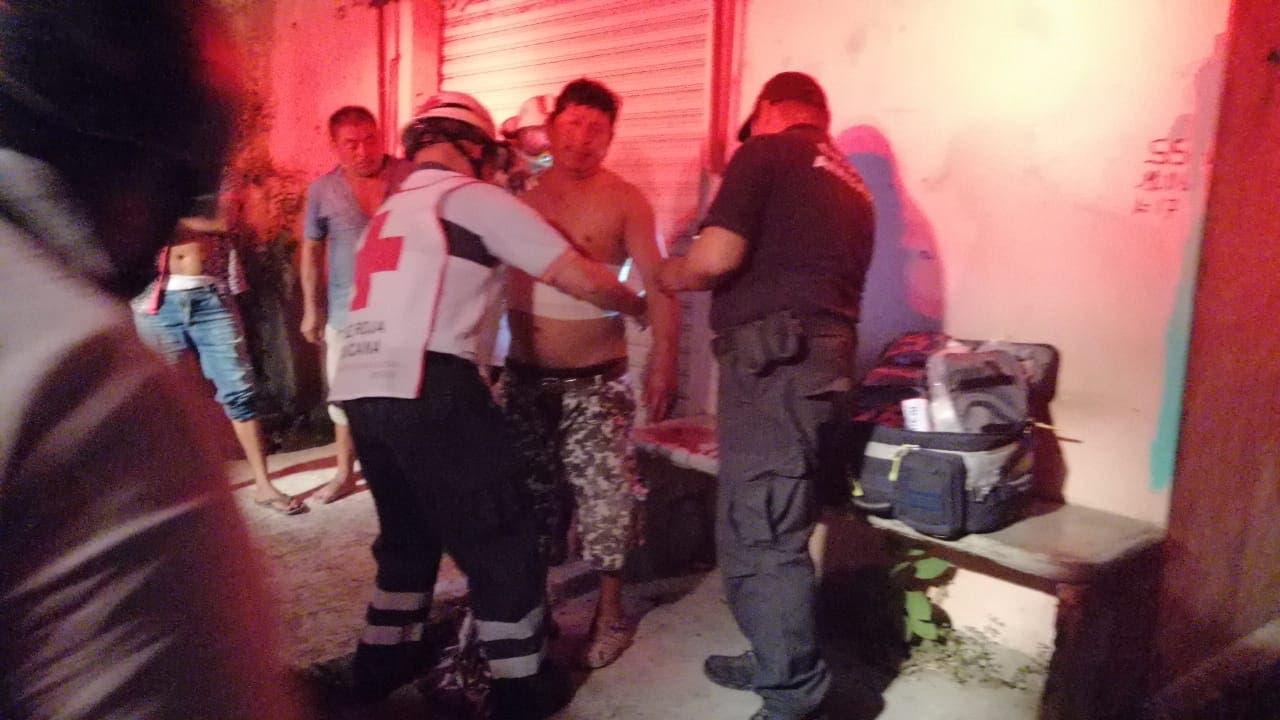 Hechos violentos en la colonia Javier Rojo Gómez