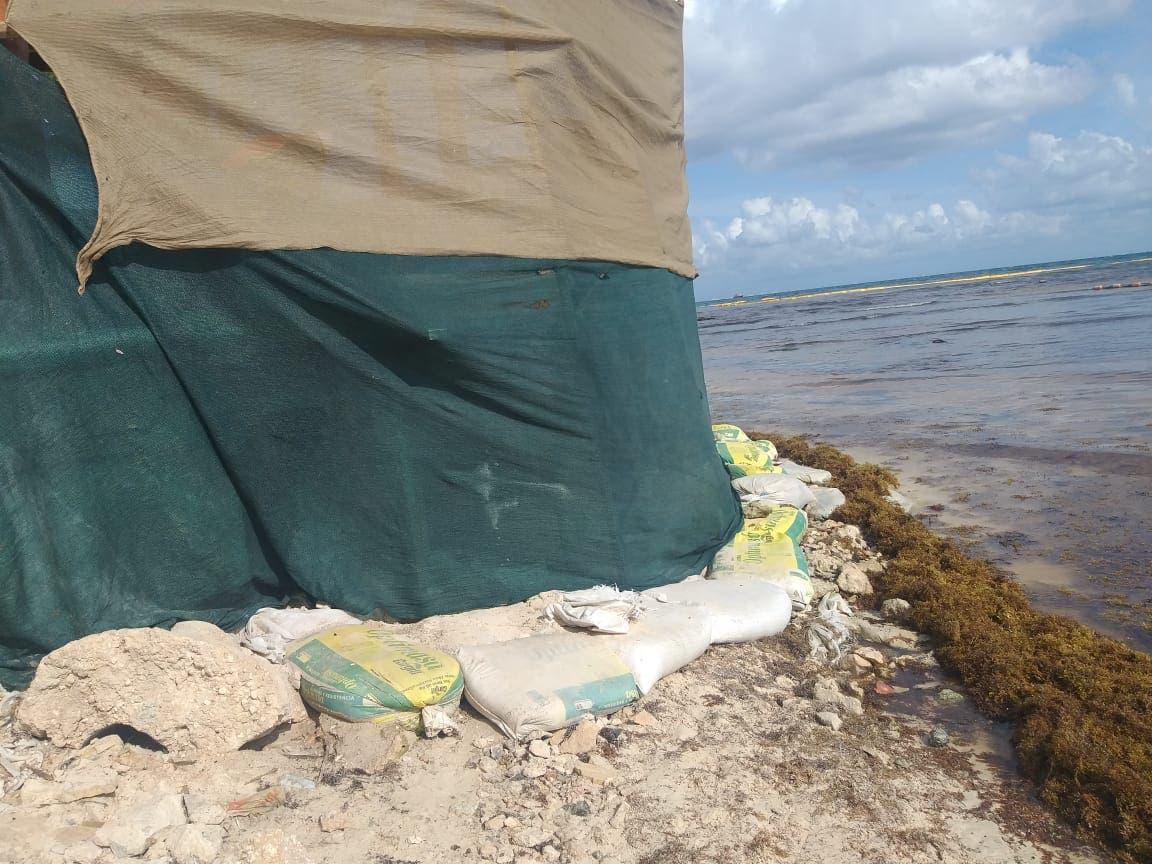 Clausuran obra hotelera en Playa del Carmen
