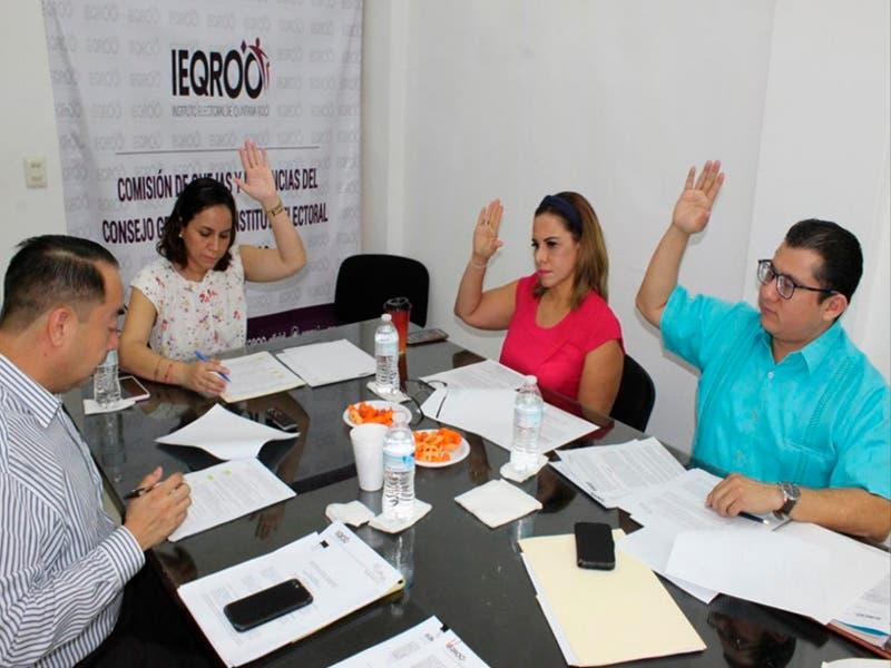 Declaran inexistentes quejas contra dos candidatos a diputados locales