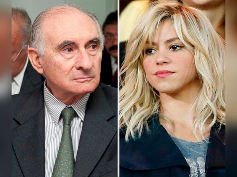 Muere ex suegro de Shakira y ella se despide
