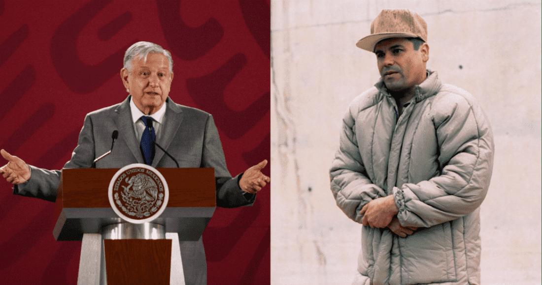 """Reclamará México bienes decomisados al """"Chapo"""": AMLO"""