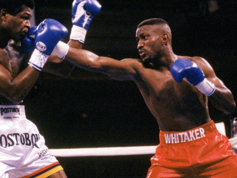 Muere Pernell Whitaker, leyenda del boxeo, por accidente automovilístico