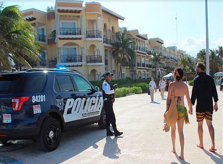 Refuerzan vigilancia en Playa del Carmen al iniciar temporada de verano