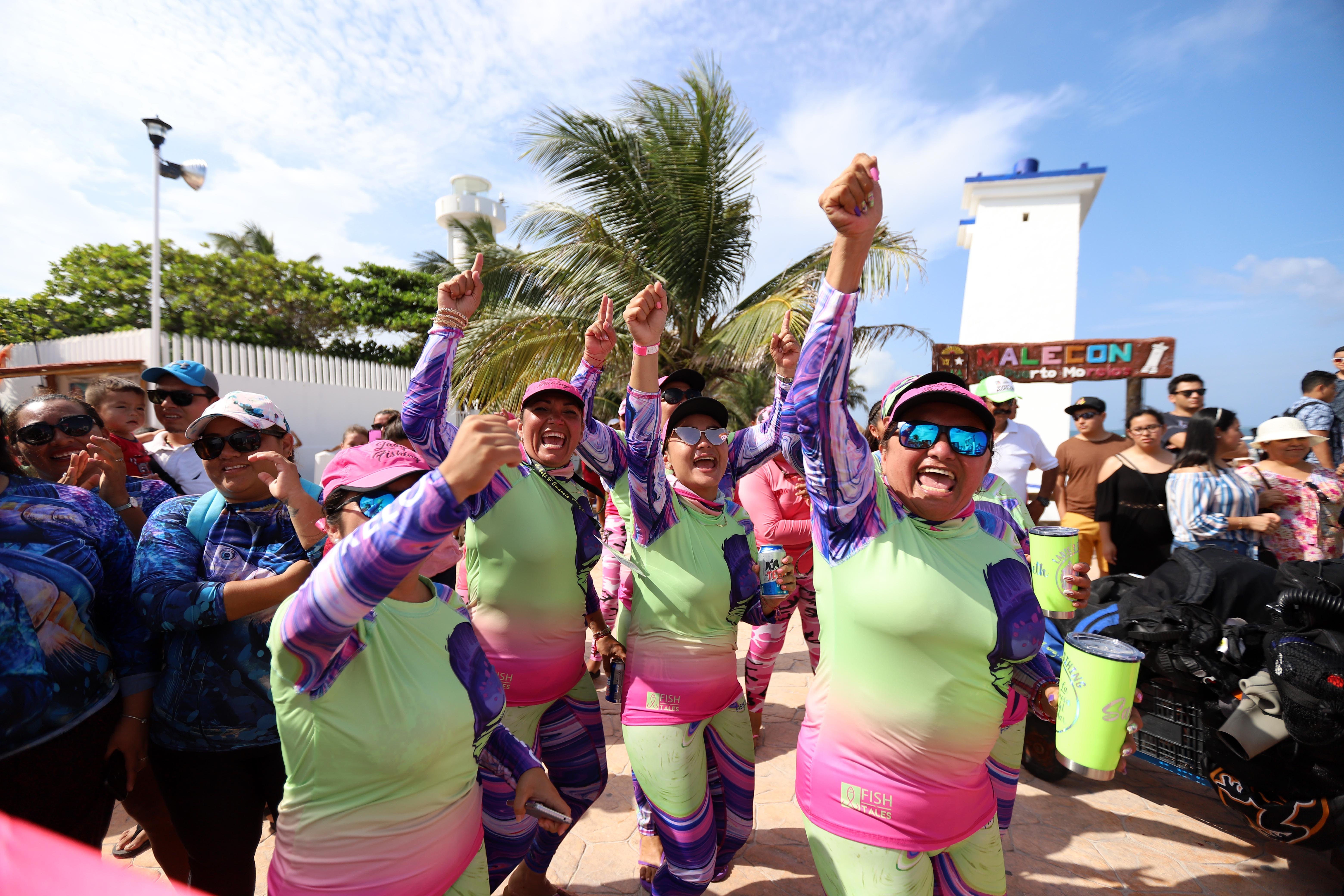 Días de fiesta deportiva que consolidan a Puerto Morelos