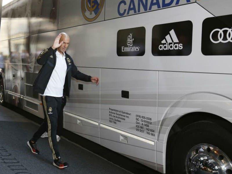 LaLiga: Zinedine Zidane se reintegra al entrenamiento de Real Madrid