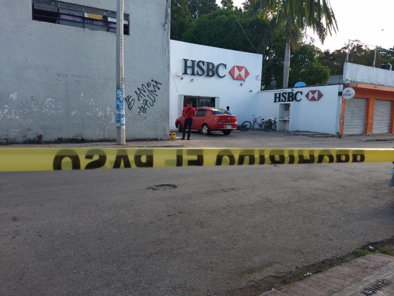 Robo con violencia en Felipe Carrillo