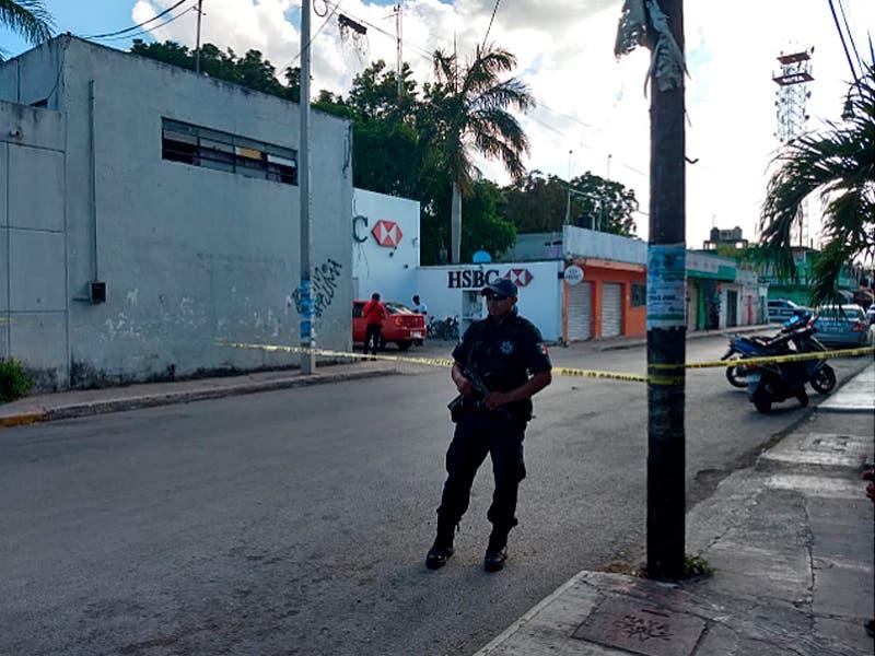 Robo con violencia irrumpió la tranquilidad este lunes en Felipe Carrillo