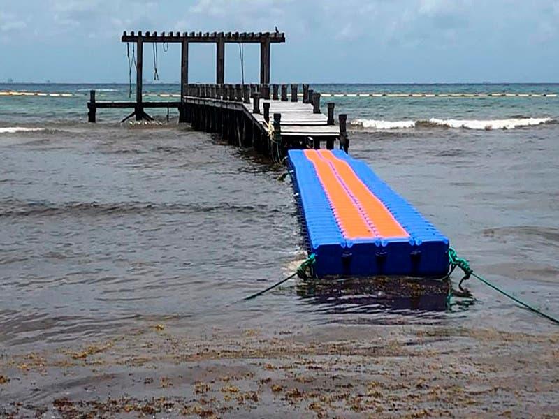 Playa ´El Recodo´ podría contar con un nuevo muelle flotante