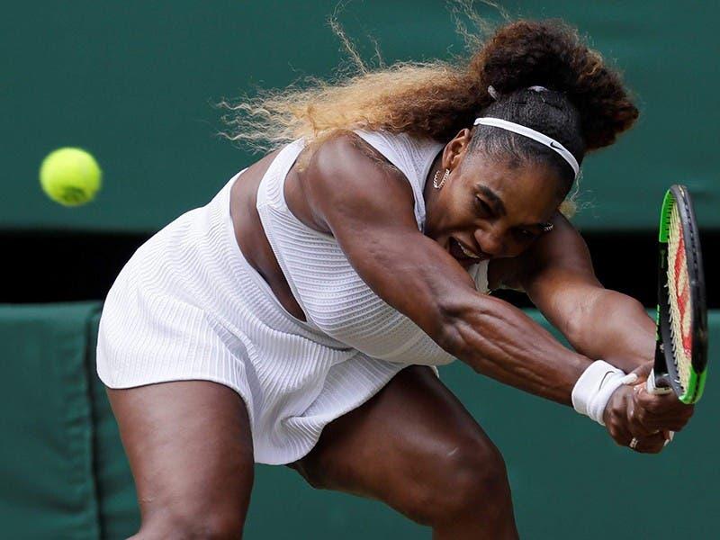 Serena Williams se instala en la final de Wimbledon