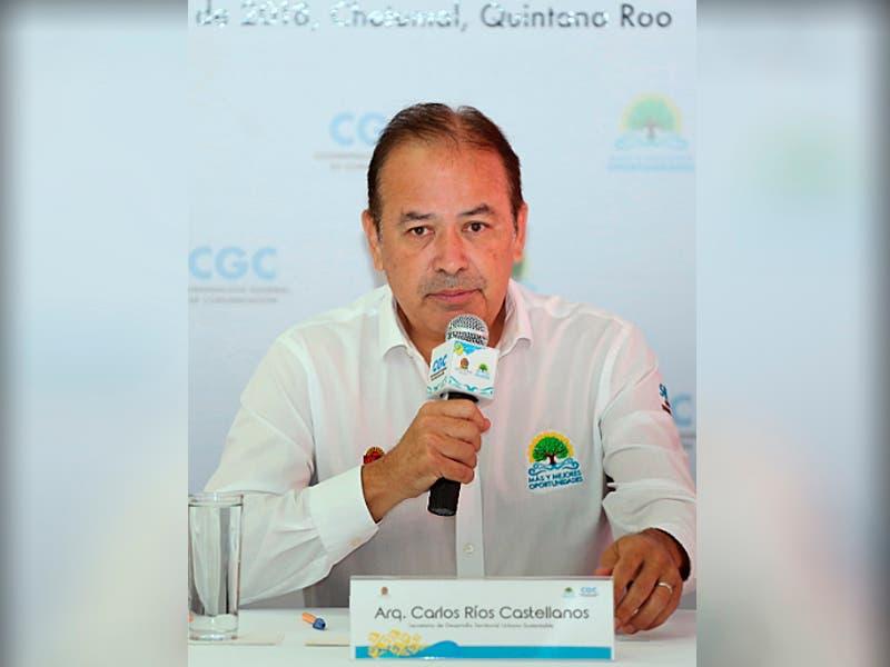 Titular de la SEDETUS, Ríos Castellanos