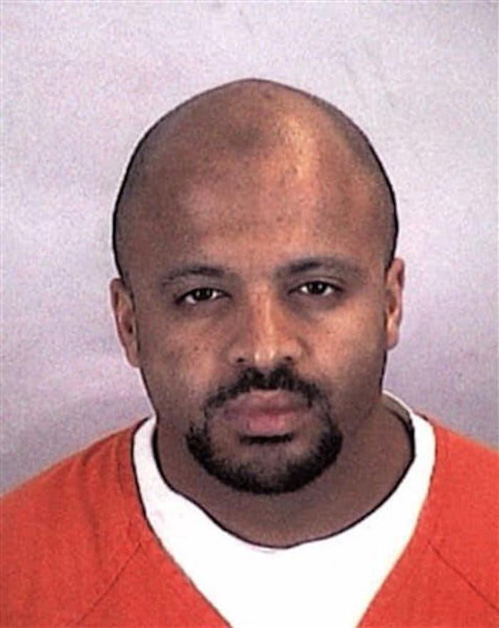 Zacarias Moussaoui, miembro de Al Qaida, y autor intelectual del atentado a las Torres Gemelas de Nueva York en 2001.